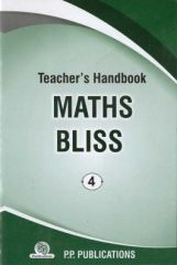 PP Teacher's Handbook Maths Bliss for class IV