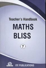 PP Teacher's Handbook Maths Bliss for class VII