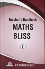 PP Teacher's Handbook Maths Bliss for class VIII