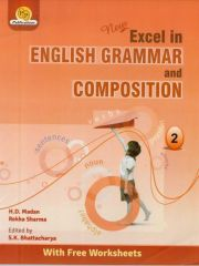 PP New Excel In English Grammer and Composition for class II (with Free Worksheets)