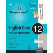 Rachna Sagar Together with English Core (Pull-out Worksheets) For Class 12