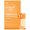 Rachna Sagar Together with English Core (pull-out-worksheets) with solution For Class 11