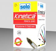 Kinetica Pencil Leads 2B 0.7x60mm, Pack of 24 tubes (LP2B7)