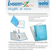 Insert-X File (IF201) pack of 10 pieces