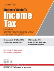 Students Guide to Income Tax with Problems andSolutions (Combo)