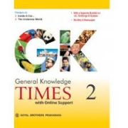 Goyal Brothers G K Times for Class 2 (With Binding)