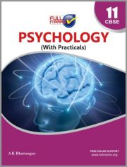 Full Marks NCERT Guide Psychology For Class 11