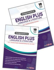 Full Marks Assignments in English Plus (Language and Literature) For Class 10