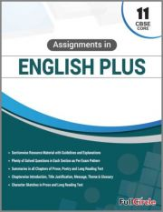 Full Marks Assignments in English Plus Core For Class 11