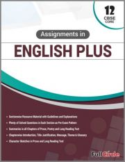 Full Marks Assignments in English Plus Core For Class 12