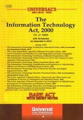 Universal's The Information Technology Act, 2000, Edition-2020