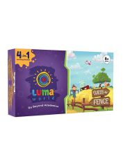Luma World Guess The Fence: All-in-One Educational Activiy Kit