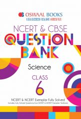 Oswaal NCERT & CBSE Question Bank Class 6 Science Book (For 2021 Exam)
