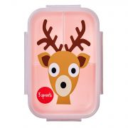 3 Sprouts Lunch Bento Box - Deer