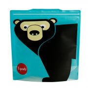 3 Sprouts Resuable Sandwich Bag (Pack Of 2) - Bear