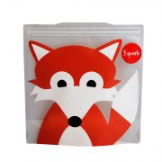 3 Sprouts Resuable Sandwich Bag (Pack Of 2) - Fox