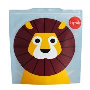3 Sprouts Resuable Sandwich Bag (Pack Of 2) - Lion
