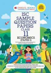 Oswaal ISC Sample Question Paper Economics for Class - 11