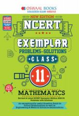 Oswaal NCERT Exemplar (Problems - solutions) Mathematics for Class - 11 (for exam 2021)