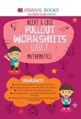 Oswaal NCERT & CBSE Pullout Worksheets Mathematics for Class - 7 (for 2021 exam)