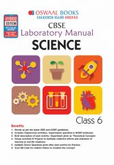 Oswaal CBSE Laboratory Manual Science for Class -6 (for 2021 Exam)