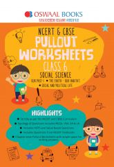 Oswaal NCERT & CBSE Pullout Worksheets Social Science for Class -6 (for 2021 Exam)