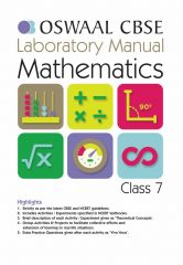 Oswaal CBSE Laboratory Manual Mathematics for Class -7 (for 2021 Exam)