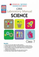 Oswaal CBSE Laboratory Manual Science for Class -7 (for 2021 Exam)