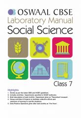 Oswaal CBSE Laboratory Manual Social Science for Class -7 (for 2021 Exam)