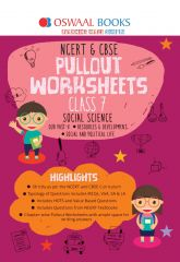Oswaal NCERT & CBSE Pullout Worksheets Social Science for Class -7 (for 2021 exam)