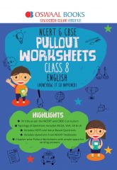 Oswaal NCERT & CBSE Pullout Worksheets English for Class -8 (for 2021 exam)