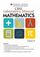 Oswaal CBSE Laboratory Manual Mathematics for Class - 9 (for 2021 Exam)