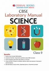 Oswaal CBSE Laboratory Manual Science for Class - 9 (for 2021 Exam)
