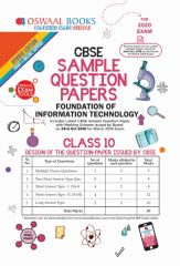 Oswaal CBSE Sample Question Paper Computer Applications for Class - 10