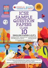 Oswaal ICSE Sample Question Papers English Paper 2 Literature for Class - 10