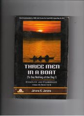 PP Three Men in a Boat by Jerome K. Jerome for class IX