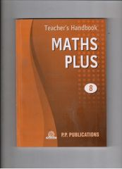 PP Teacher's Handbook Maths Plus for class VIII