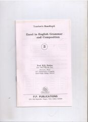 PP Guide For Excel In A English Grammer And Composition For Class III