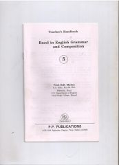 PP Guide for  Excel In A English Grammer And Composition For Class V