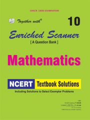 Rachna Sagar Together With Enriched Scanner Mathematics NCERT Textbook Solutions for Class 10