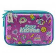 Smily Kiddos Fantasy Fancy Double Compartment Pencil Case (Pink)