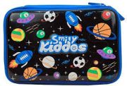 Smily Kiddos Fantasy Fancy Double Compartment Pencil Case (Black)