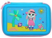 Smily Kiddos Holiday scented hardtop pencil box (Light Blue)