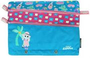 Smily Kiddos Fantasy Fancy A5 pencil case  (Light Blue)