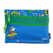 Smily Kiddos Fantasy Fancy A5 pencil case  (Blue)