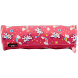 Smily Kiddos round pencil pouch  (pink)