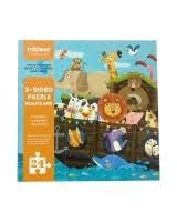 Smilly Kiddos 2-SIDED PUZZLE NOAH`S ARK