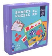 Smilly Kiddos Shapes Puzzle